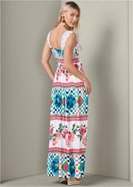 Detail  view Floral Print Maxi Dress