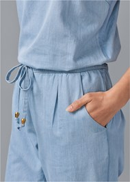 Alternate View Chambray Jumpsuit