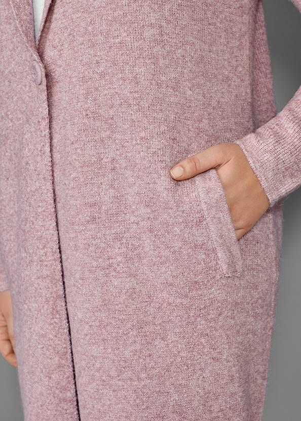 Alternate View Long Sweater Coat