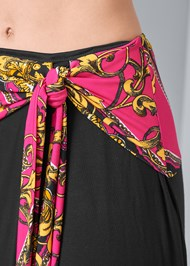 Detail  view Tie Detail Maxi Skirt