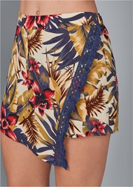 Alternate View Tropical Print Skort