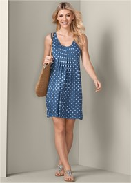 Alternate View Print Casual Dress