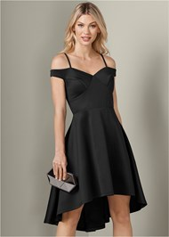 Front View Off The Shoulder Dress