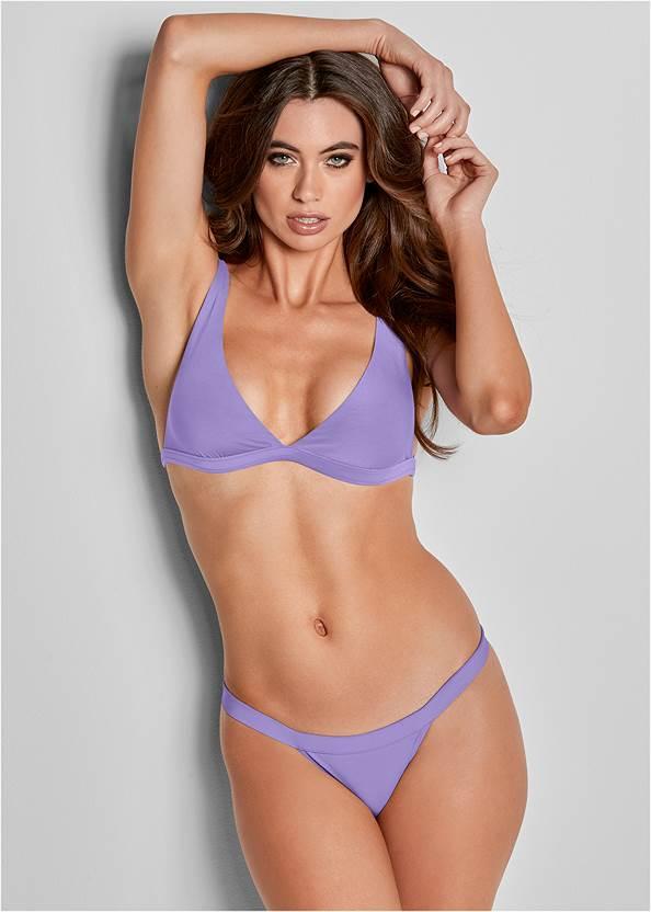 Front View Versatility By Venus ® Reversible Bikini Bralette
