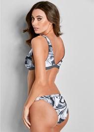 Back View Versatility By Venus ® Reversible Bikini Bralette