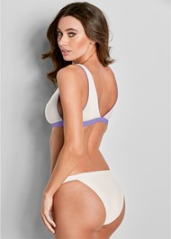 Back View Versatility By Venus ® Reversible Bikini Bralette
