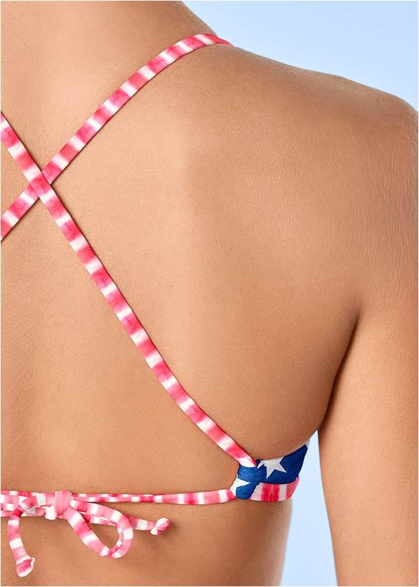 Alternate View Strappy Bralette Bikini Top