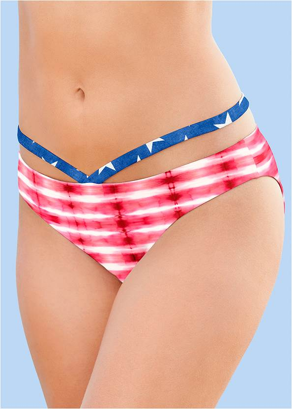 Alternate View Low Rise Strappy Bottom