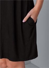 Alternate View Pocket Detail Casual Dress