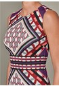Alternate View Geometric Print Dress