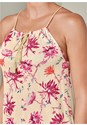 Alternate View Floral Keyhole Top