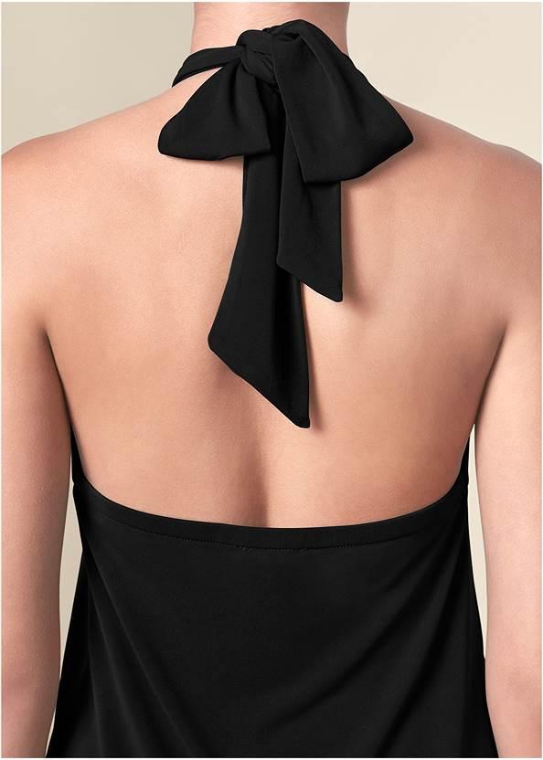 Alternate View Halter Tie Dress
