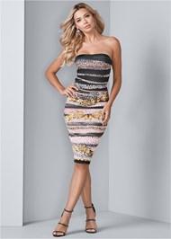 Alternate View Strapless Bodycon Dress