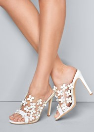 Alternate View Flower Detail Heels