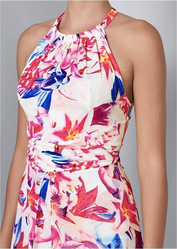 Alternate View Floral Print Dress