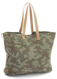 Back View Camo Tote Bag