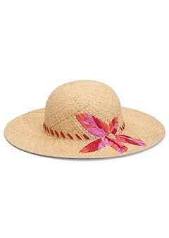 woven floppy hat