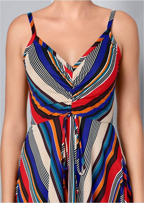 Alternate View Mixed Stripe Dress