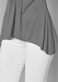 Alternate View High Low Embellished Top