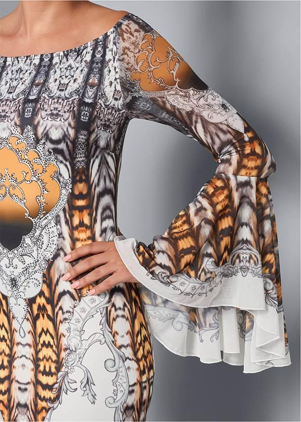 Alternate View All Over Print Dress
