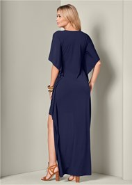 Back View High Low Dress