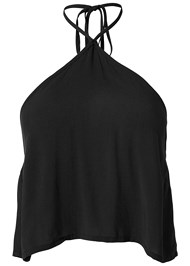 Alternate View Halter Crop Top Cover-Up
