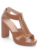 zip up block heel