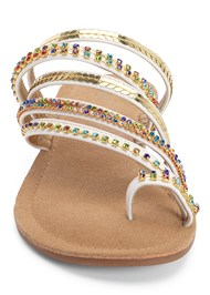 Alternate View Strappy Toe Ring Sandals