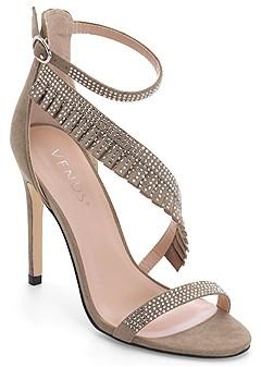 ribbon trim heel