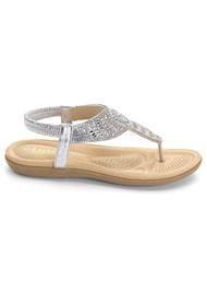 Alternate View Sparkle Thong Sandals