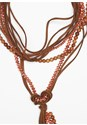 Alternate View Layered Knot Necklace