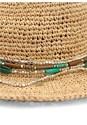 Alternate View Bead Trim Straw Hat