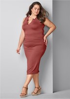 plus size casual tank dress