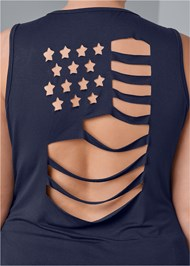 Alternate View Flag Cut Out Top