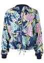 Alternate View Tropical Print Jacket