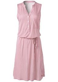 Alternate View Striped Casual Dress