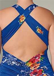 Alternate View Strappy Back Bodycon Dress