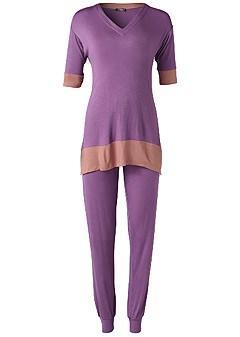 plus size sleep pant set