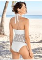 Back View Sultry Crochet Tankini