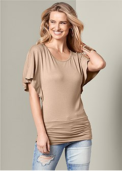 banded bottom top