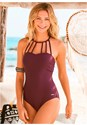 Front View Strappy One-Piece