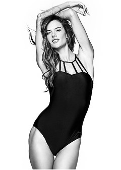 strappy one-piece