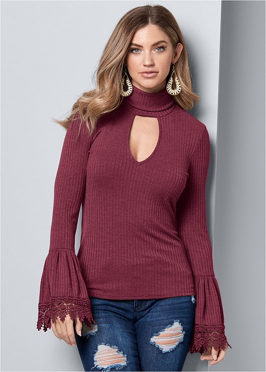RIBBED MOCK NECK TOP,DISTRESSED BUM LIFTER,PUSH UP BRA BUY 2 FOR $40,PERFORATED BOOTIES