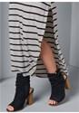 Alternate View Stripe Long Dress