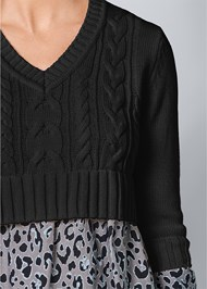 Alternate View Shirting Detail Sweater