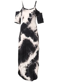Alternate View Casual Tie Dye Maxi Dress