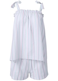 Alternate View Stripe Sleep Shorts Set