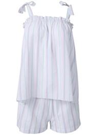 Alternate View Stripe Sleep Shorts Set