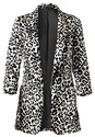 Alternate View Leopard Print Blazer