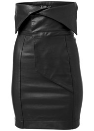 Alternate View Faux Leather Skirt